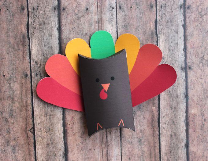 turkey favor boxes